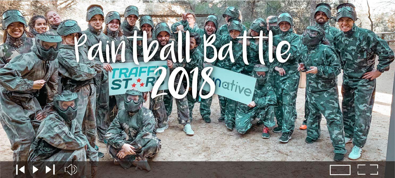 Paintball battle 2018 TrafficStars vs RUNative